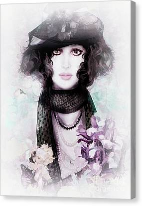 Fleuriste Canvas Print by Shanina Conway
