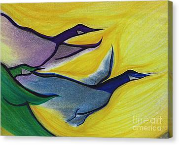 Flight By Jrr Canvas Print by First Star Art