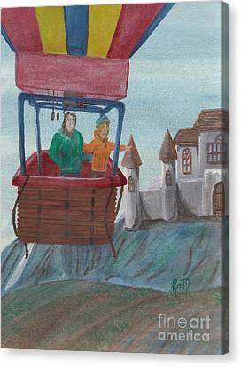 Flight Of Fancy Canvas Print by Robert Meszaros