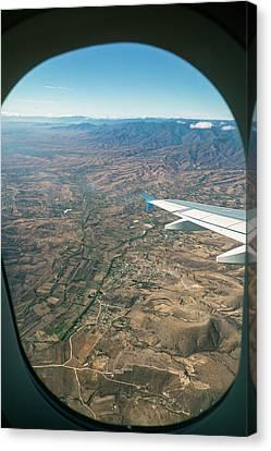 Flight Over Oaxaca Canvas Print by Jim West