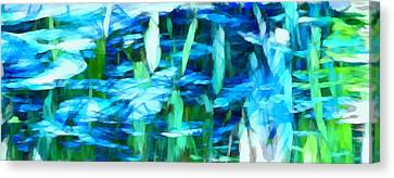 Float 2 Horizontal Canvas Print by Angelina Vick