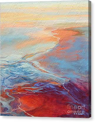 Flood Canvas Print by Elizabeth Coats