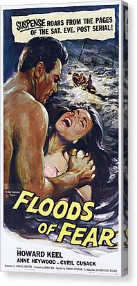 Floods Of Fear, Us Poster, From Left Canvas Print by Everett
