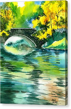 Floods R Canvas Print by Anil Nene