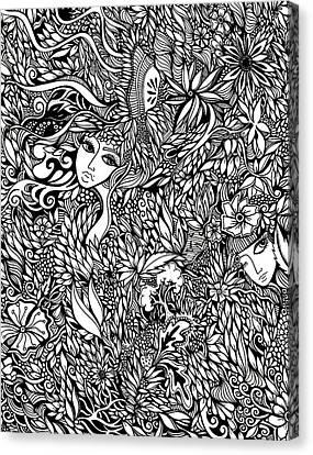 Flora Canvas Print by Jody Pham