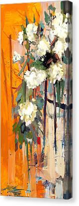 Floral 17 Canvas Print by Mahnoor Shah