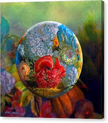 Floral Ambrosia Canvas Print by Robin Moline