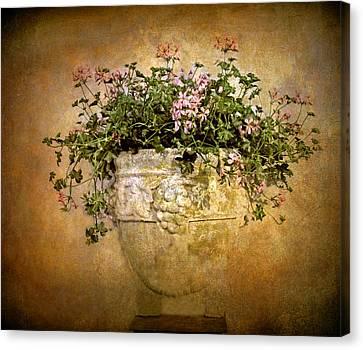 Floral Fresco Canvas Print by Jessica Jenney