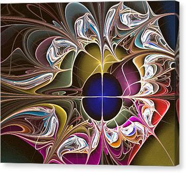 Floral Hybrid  Canvas Print by Ester  Rogers