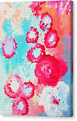 Floral IIi Canvas Print by Patricia Awapara