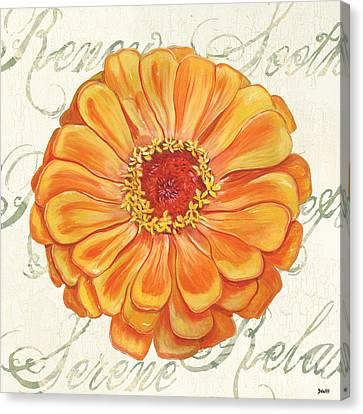 Floral Inspiration 2 Canvas Print by Debbie DeWitt