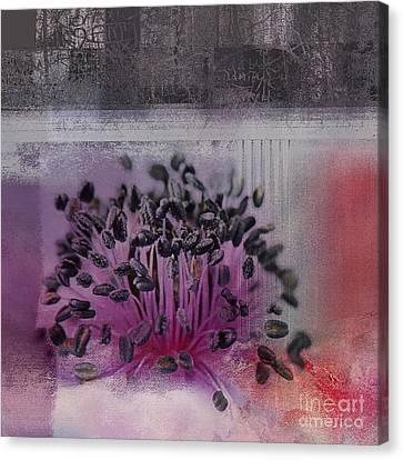 Floralart - 02b Canvas Print by Variance Collections