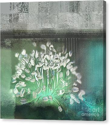 Floralart - 03 Canvas Print by Variance Collections