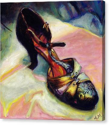 Florence Canvas Print by Ann Moeller Steverson