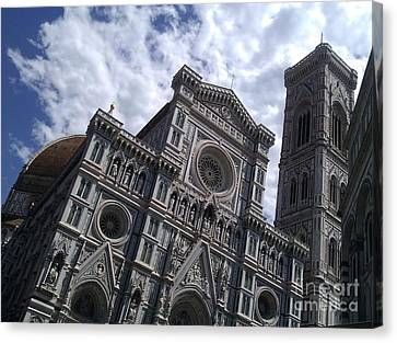 Florence Cathedral  Canvas Print by Ted Williams