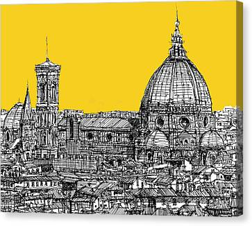 Florence Duomo  Canvas Print by Adendorff Design