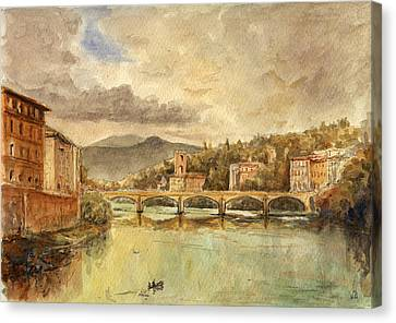 Florence Canvas Print by Juan  Bosco