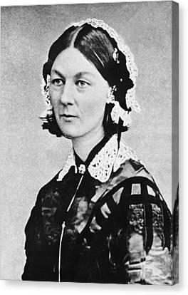 Florence Nightingale Canvas Print by Underwood Archives