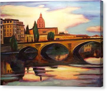 Florence Canvas Print by Sheila Diemert