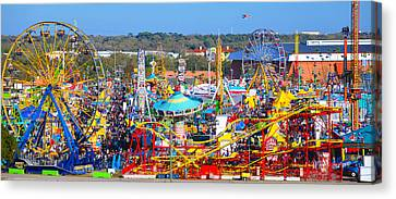 Florida State Fair 2015 Pano Canvas Print by David Lee Thompson