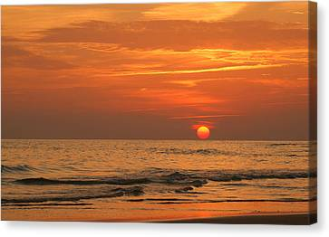 Florida Sunset Canvas Print by Sandy Keeton