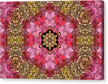 Florissimo Mandakal S01-01b Canvas Print by Variance Collections
