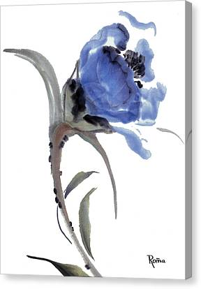 Flower 1 Canvas Print by Skip Roma