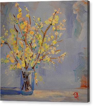 Flower Arrangement Exotic  Canvas Print by Patricia Awapara