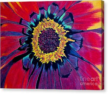Flowerburst Canvas Print by Rory Sagner