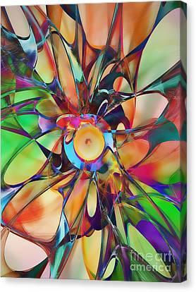 Flowering Canvas Print by Klara Acel