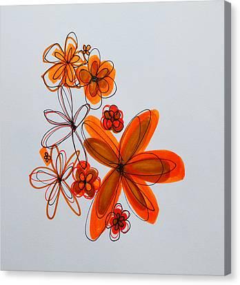 Flowers IIII Canvas Print by Patricia Awapara