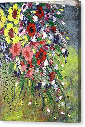 Flowers Canvas Print by Shilpi Singh
