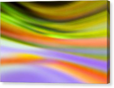 Flowing With Life 20 Canvas Print by Angelina Vick