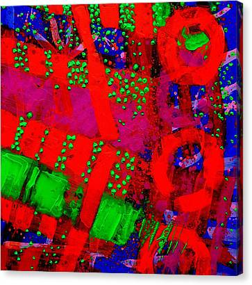 Flux Line Abstract 24914  Canvas Print by John  Nolan