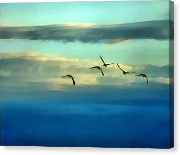 Fly Away Canvas Print by Ernie Echols