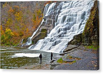 Fly Fishing Canvas Print by Frozen in Time Fine Art Photography