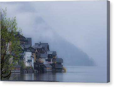 Foggy Hallstatt Canvas Print by Kurt Golgart