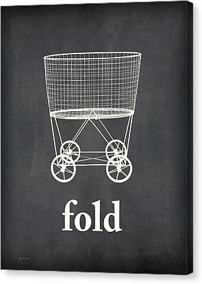 Fold Canvas Print by Jo Moulton