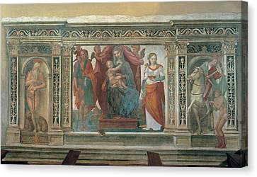 Follower Domenico Di Giacomo Di Pace Canvas Print by Everett