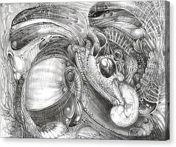Fomorii Aliens Canvas Print by Otto Rapp