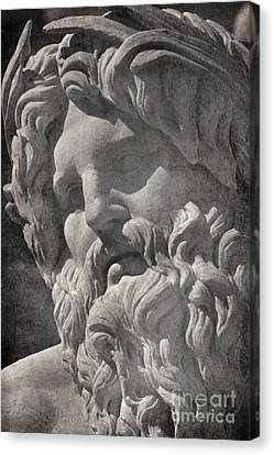 Fontana Dei Quattro Fiumi - River Ganges Canvas Print by Rod McLean