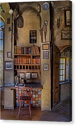 Fonthill Castle Study Canvas Print by Susan Candelario