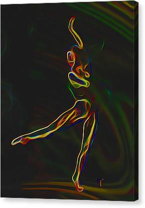 Footloose Canvas Print by  Fli Art