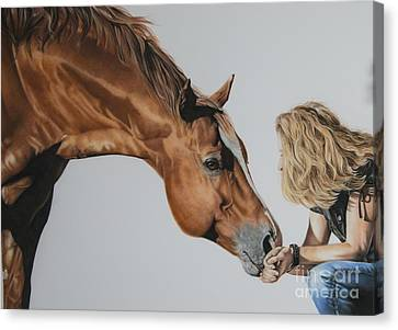 For Amy Canvas Print by Joni Beinborn