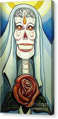 For Mom Canvas Print by Carlos Ruiz