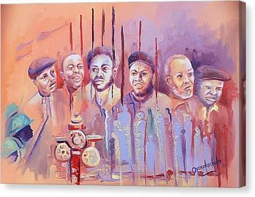 For Our Tomorrow Canvas Print by Oyoroko Ken ochuko