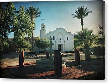 For Whom The Bell Tolls Canvas Print by Laurie Search