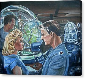 Forbidden Planet Canvas Print by Bryan Bustard