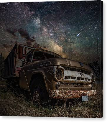 Ford Canvas Print by Aaron J Groen