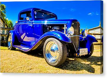 Ford Coupe Hot Rod Canvas Print by motography aka Phil Clark